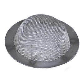 HMF Spark Arrestor Screen - 2000 Honda RANCHER 350 4X4 HMF Utility Slip-On Exhaust - Polished