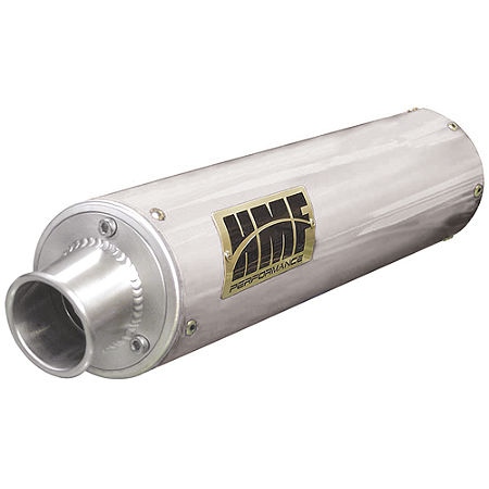 HMF Performance Series Slip-On Exhaust - Brushed - Main