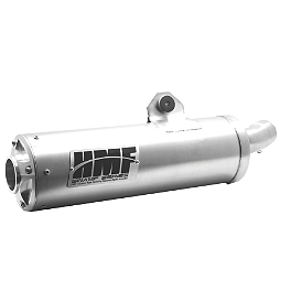 HMF Swamp Series Slip-On Exhaust - HMF Utility Slip-On Exhaust - Brushed