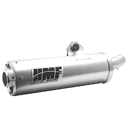 HMF Swamp Series XL Slip-On Exhaust - HMF Penland Pro Slip-On Exhaust - Brushed