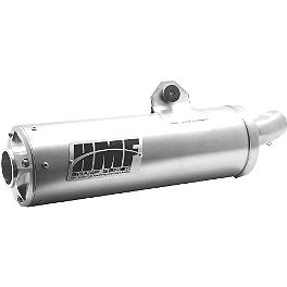 HMF Swamp Series XL Slip-On Exhaust - 2012 Polaris SPORTSMAN X2 550 HMF Swamp Series XL Slip-On Exhaust