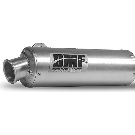 HMF Utility Slip-On Exhaust - Brushed - Main