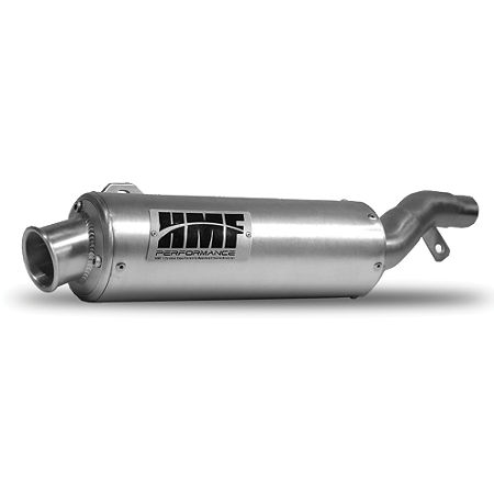 HMF Utility Slip-On Exhaust - Polished - Main