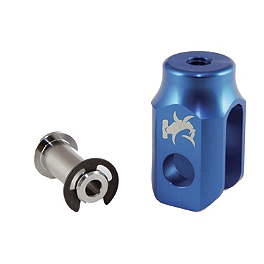 Hammerhead Rear Brake Clevis - Blue - 2010 Yamaha YZ450F Hammerhead Pro Rear Brake Return Kit