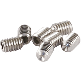 Hammerhead Replacement Large Aluminum Brake Tip Set Screws - Turner Billet Aluminum Footpeg Screws - 20 Pack
