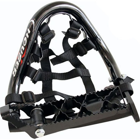 Houser Pro Bounce Heel Guards With Suspension Footpegs - Main
