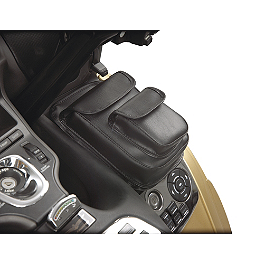Hopnel Premium Double Add-A-Pocket - 2007 Honda Gold Wing 1800 Audio Comfort Navigation - GL1800 Hopnel Triple Trunk Pouch