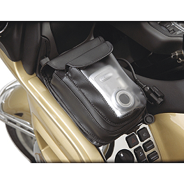 Hopnel Premium Double Add-A-Pocket With Clear Pouch - 2009 Honda Gold Wing 1800 Audio Comfort - GL1800 Hopnel Triple Trunk Pouch