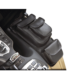 Hopnel Double Custom Deluxe Fairing Pocket Cover - 2010 Honda Gold Wing 1800 Audio Comfort Navigation - GL1800 Hopnel Triple Trunk Pouch