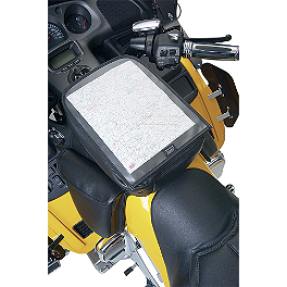 Hopnel Deluxe System Map Holder - 2007 Honda Gold Wing 1800 Audio Comfort Navigation - GL1800 Hopnel Triple Trunk Pouch