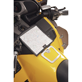 Hopnel Map Pocket - 2006 Honda Gold Wing 1800 Audio Comfort Navigation - GL1800 Hopnel Triple Trunk Pouch