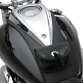 Hopnel Signature Series Tuxedo Tie - 2009 Yamaha V Star 950 - XVS95 BikeMaster Oil Filter - Chrome