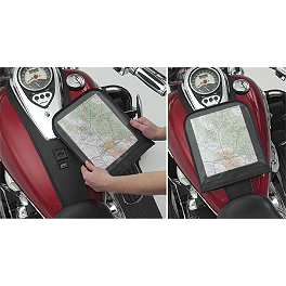 Hopnel Map Pouch For Tuxedo Ties - Hopnel Signature Series Tri-Pouch For National Cycle Windshields