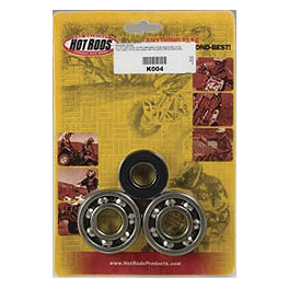 Hot Rods Crank Bearings And Seals Kit - 2000 Honda CR80 Big Wheel Hot Rods Complete Bottom End Kit
