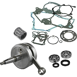Hot Rods Complete Bottom End Kit - 2002 Honda CR80 Big Wheel Hot Rods Crank Bearings And Seals Kit