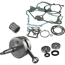 Hot Rods Complete Bottom End Kit - 2000 Kawasaki KX60 Wiseco Top And Bottom End Kit - 2-Stroke