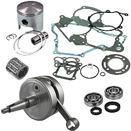 Hot Rods Complete Top & Bottom End Kit - 2-Stroke - 2004 Kawasaki KX100 Hot Rods Crank Bearings And Seals Kit