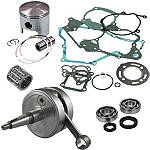 Hot Rods Complete Top & Bottom End Kit - 2-Stroke - Dirt Bike Wheels