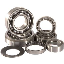 Hot Rods Transmission Bearing Kit - 1998 Honda CR80 Big Wheel Hot Rods Crank Bearings And Seals Kit
