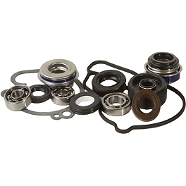 Hot Rods Water Pump Repair Kit - 2000 Honda CR80 Big Wheel Hot Rods Crank Bearings And Seals Kit