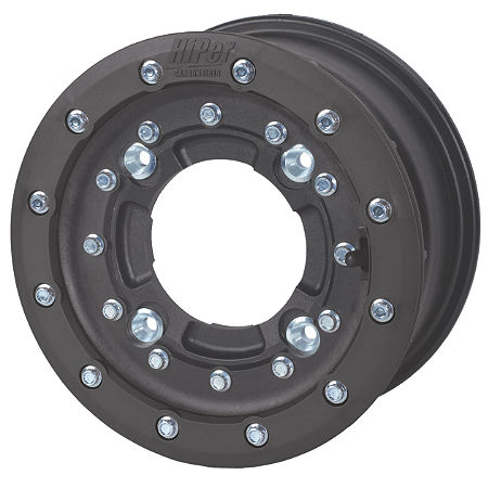 Hiper CF1 Single Beadlock Front Wheel - 10X5 3+2 Black - Main