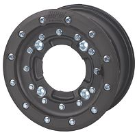 Hiper CF1 Single Beadlock Front Wheel - 10X5 3+2 Black