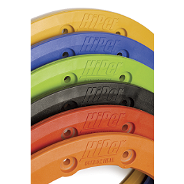 Hiper Beadlock Ring - 2008 Polaris OUTLAW 525 S Durablue Easy-Fit Rear Wheel Spacers 4 / 110