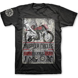 Hustler Cycles T-Shirt - Hustler Big Bike T-Shirt