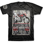 Hustler Cycles T-Shirt - Hustler Dirt Bike Mens Casual