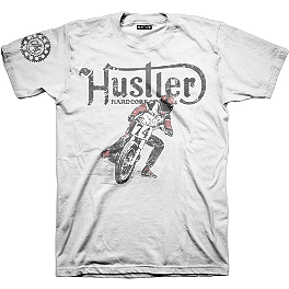 Hustler Slider T-Shirt - Hustler Big Bike T-Shirt