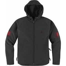 Icon 1000 Hoodlux Softshell Jacket - Icon Defendant Bonded Fleece Jacket