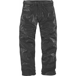 Icon 1000 Roughshod Pants - River Road Pueblo Cool Leather Overpants
