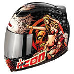Icon Airframe Helmet - Pleasuredome - Motorcycle Helmets and Accessories