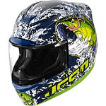 Icon Airmada Helmet - Basstard - ICON Dirt Bike Products