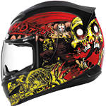 Icon Airmada Helmet - Chainbrain - ICON Motorcycle Products