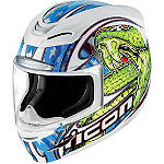Icon Airmada Helmet - Charmer - Womens ICON Full Face Motorcycle Helmets