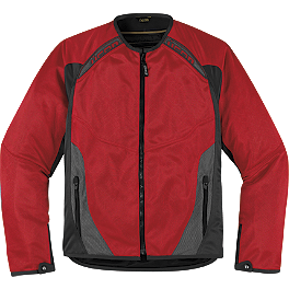 Icon Anthem Mesh Jacket - Icon Hooligan Riding Jersey