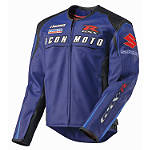 Icon Automag Suzuki Jacket - Motorcycle Race Suit Leathers