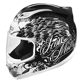 Icon Airframe Helmet - Street Angel - Icon Alliance Threshold GSX-R Helmet