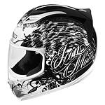Icon Airframe Helmet - Street Angel - Womens Full Face Motorcycle Helmets