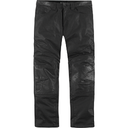Icon 1000 Beltway Pants - River Road Bravado II Leather Overpants