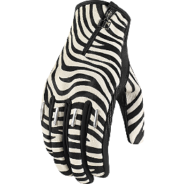 Icon 1000 Women's Catwalk Gloves - Short - Icon 1000 Women's Catwalk Gloves - Long