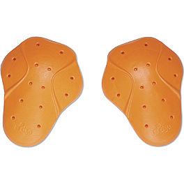 Icon Replacement D30 CE Armor - Shoulders - Firstgear Temperfoam Elbow, Shoulder Or Knee Pads - Pair