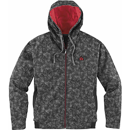 Icon Defendant Bonded Fleece Jacket - Icon Rat Zip Hoody