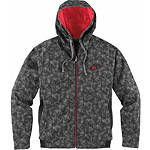 Icon Defendant Bonded Fleece Jacket - Dirt Bike Mens Casual