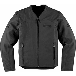 Icon Device Leather Jacket - Icon Compound Leather / Textile Jacket