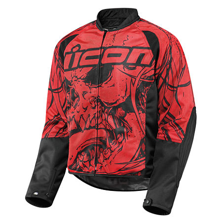 Icon Hooligan 2 Etched Jacket - Main