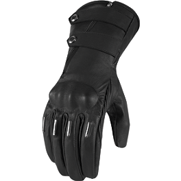 Icon 1000 Women's Hella Kangaroo Gloves - Long - Dainese Women's Leather Aura Gloves