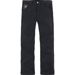 Icon Hooligan Jeans - REV'IT! Knox AIR V2 Elbow/Knee Armor