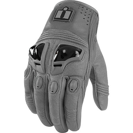 Icon Justice Leather Gloves - Main